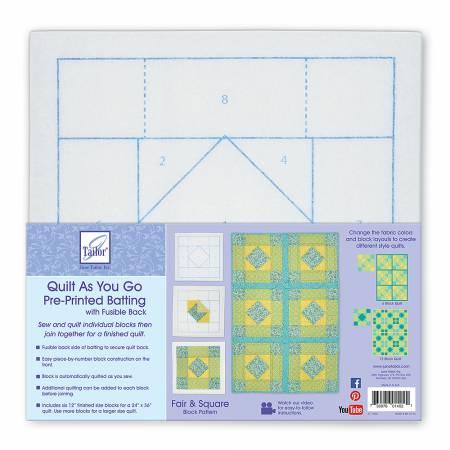 Quilt As You Go Fair & Square