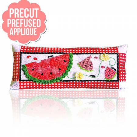 Slice of Summer Bench Pillows - June with pattern