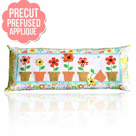 May Flowers Bench Pillows - May with pattern