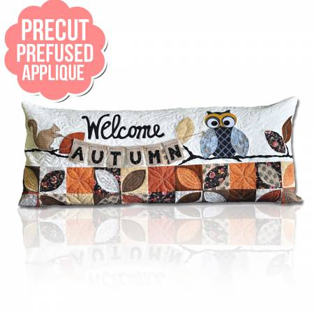 Welcome Autumn Bench Pillows - September with pattern