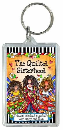 Quilt Sisterhood Keychain