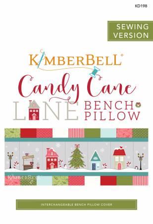 Candy Cane Lane Bench Pillow Sewing Version