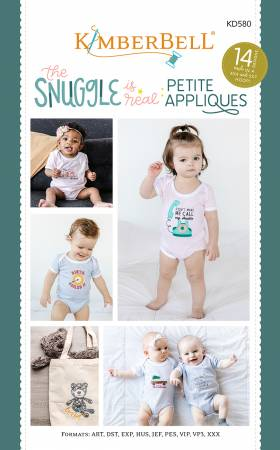 The Snuggle is Real: Petite Applique CD