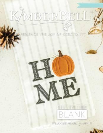 October Welcome Home Pumpkin Tea  Towel Set of 2 Dots & Stripes Tea Towels