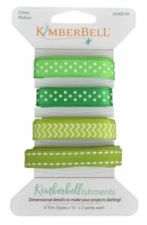 Kimberbellishments Green Ribbon Set
