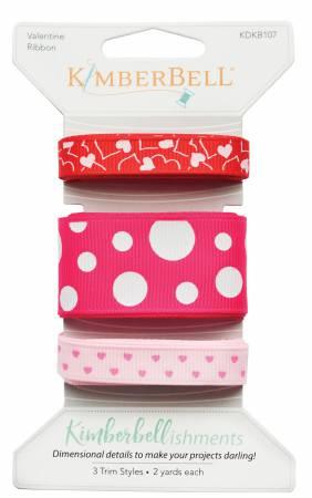 Kimberbellishments Valentine Ribbon Set