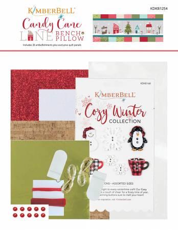 Candy Cane Lane Embellishment Kit