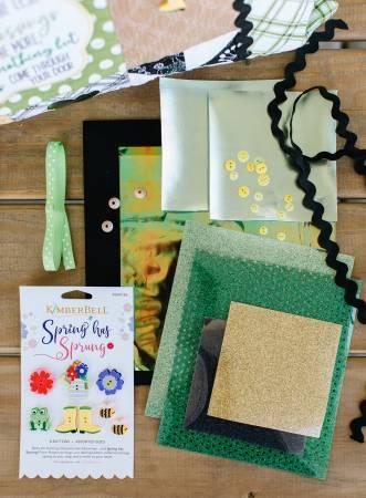 Luck O The Gnome Embellishment Kit