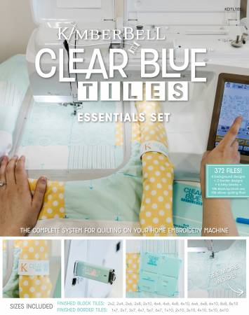 Clear Blue Tiles Essentials Set