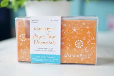Kimberbell Paper Tape Dispenser - Orange