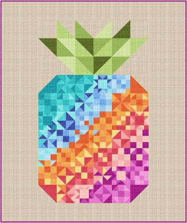 Quilt Kit Coco Pineapple Party, 62in x 72in