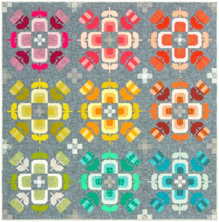 Quilt Kit Casserole 86inx86in, backing NOT included