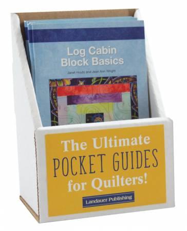 Log Cabin Block Basics Pocket Guide Displays