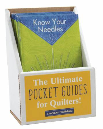 Know Your Needles Pocket Guide Displays
