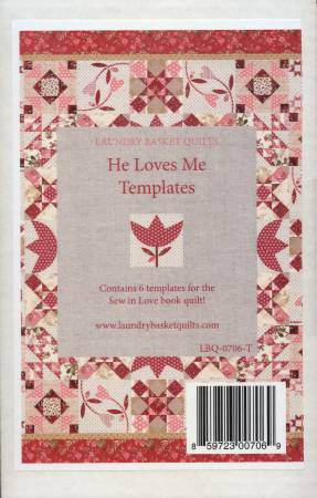 Template - Sew In Love, He Loves Me