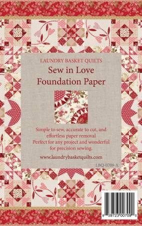 Foundation Paper - Sew In Love