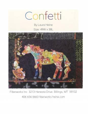 Confetti Horse Collage