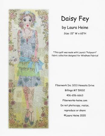 Daisy Fey Collage Pattern