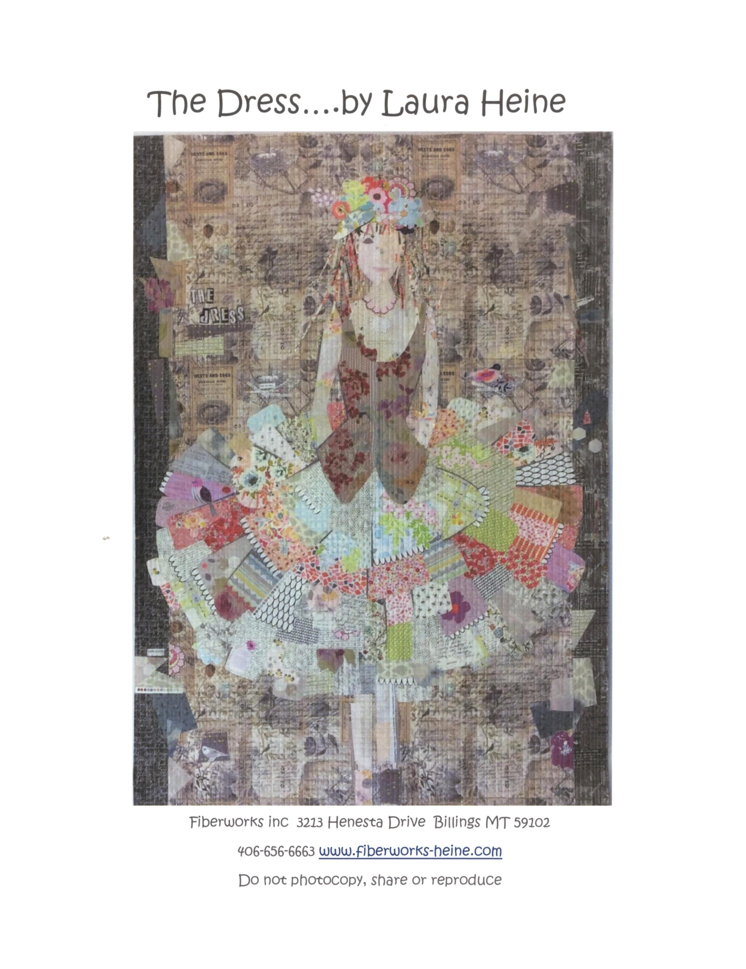 43 x 41 Oh Deer Collage Applique Quilt Pattern by Laura Heine from Fiberworks Inc LHFWOD
