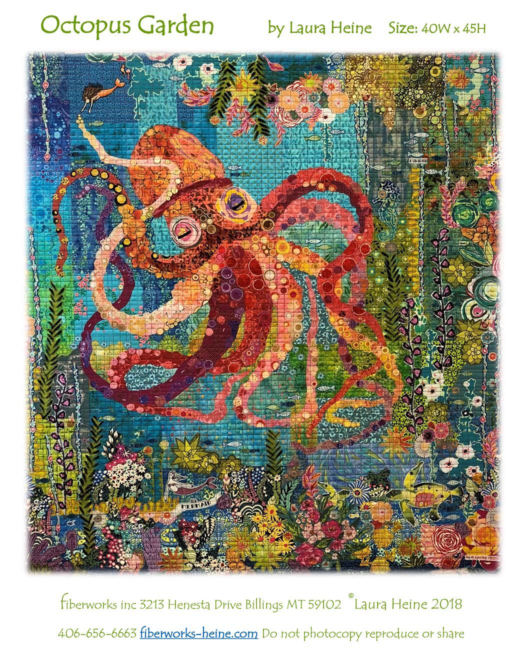 Quilt Pattern ~ HONEY BEE ~ by Laura Heine Fiberworks