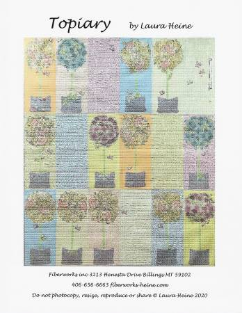 Topiary Collage Quilt