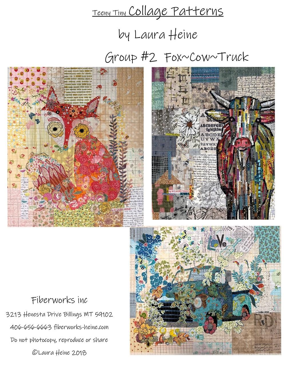 Quilt Pattern ~ PHEASANT ~ by Laura Heine Fiberworks