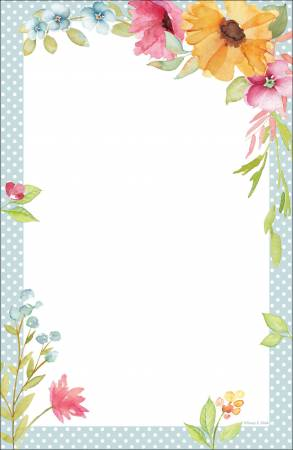 Poppy Floral Note Pad