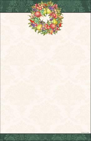 Fruit Note Pad 5-1/2in X 8-1/2in