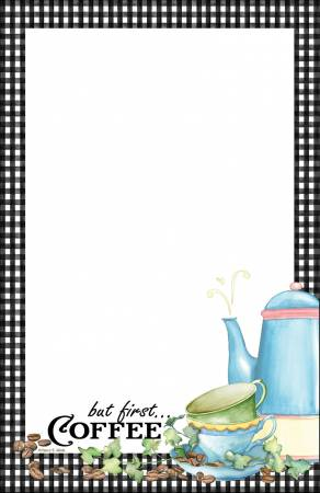 Coffee Note Pad 5-1/2in X 8-1/2in