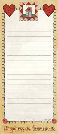 Quilt List Pad 3-3/4in X 8-3/4in