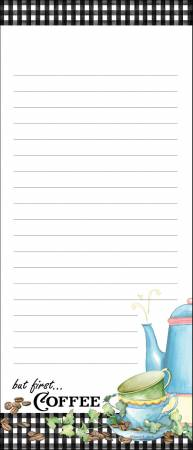 Coffee List Pad 3-3/4in X 8-3/4in