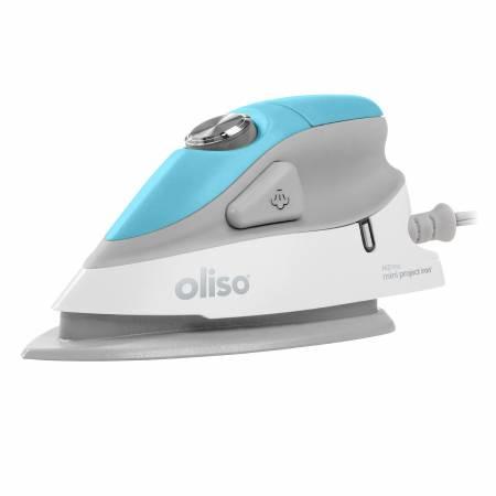 Oliso Mini Iron Turquoise With Trivet
