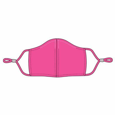 Hot Pink Adjustable Mask