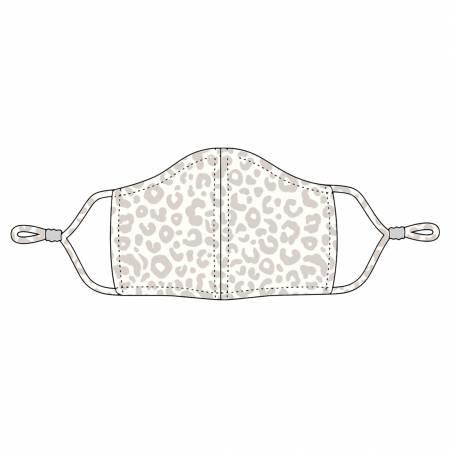 Natural Leopard Adjustable Mask