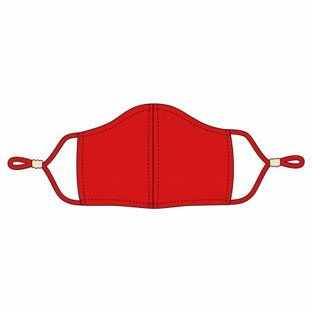 Red Adjustable Mask