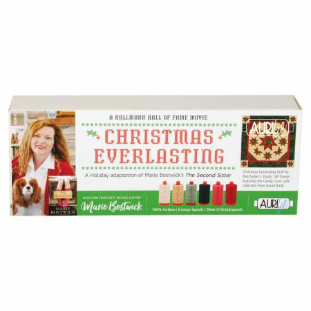 Christmas Everlasting Collection by Maria Bostwick and Deb Tucker 6 Large Spools
