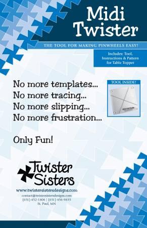 Midi Twister Pinwheel Template