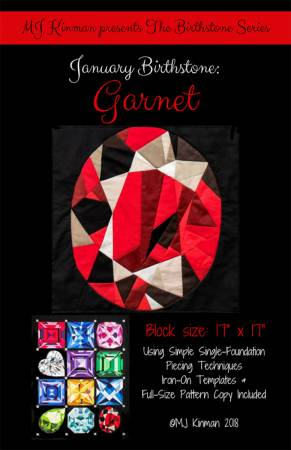 January Birthstone Garnet - Birthstone Series