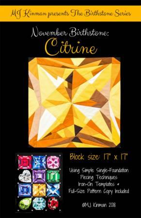 November Birthstone Citrine - Birthstone Series