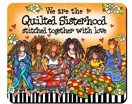 Quilt Sisterhood Mouse Pad