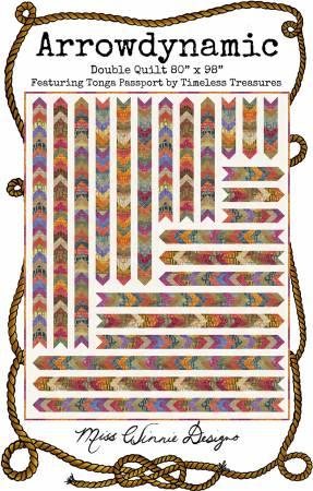 Arrowdynamic Quilt Pattern