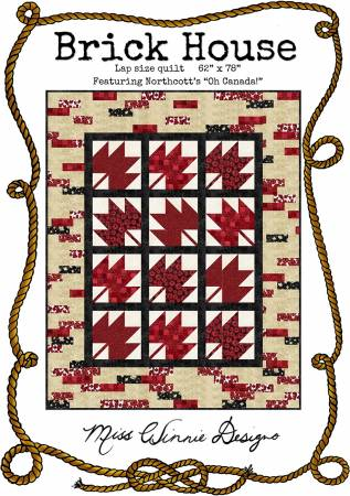 Brick House Quilt Pattern