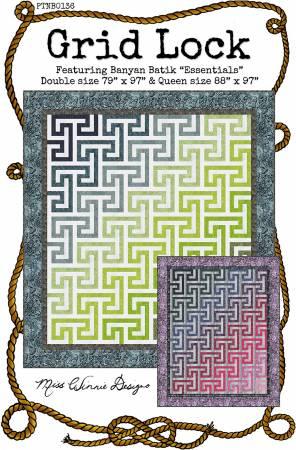 Grid Lock Quilt Pattern