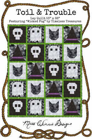 Toil and Trouble Quilt Pattern