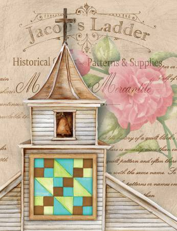 Package Note Cards Quilt Church Jacob's Ladder