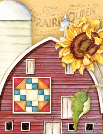 Package Note Cards Quilt Barn Prairie Queen