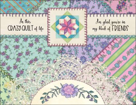 Note Cards Crazy Quilt