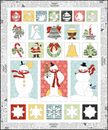 J. Wecker Frisch All About Christmas Quilt Pattern