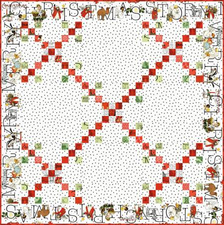 Christmas Nine Patch Quilt Pattern