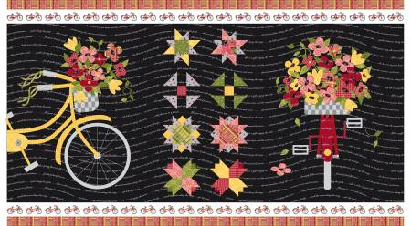 Petals And Pedals 24in Panel Black